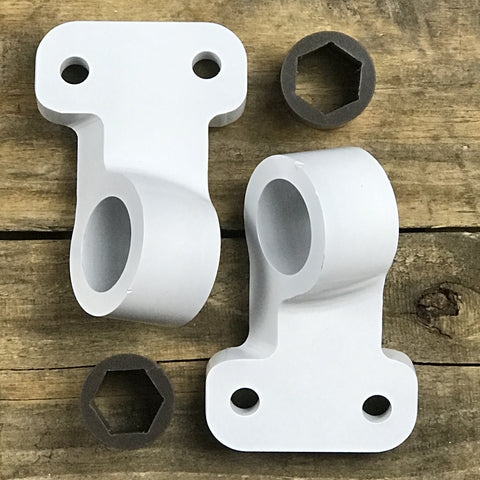 Solid Control Arm Mounts - Front Control Arm Bushing E46  (Treehouse TrackCAB)