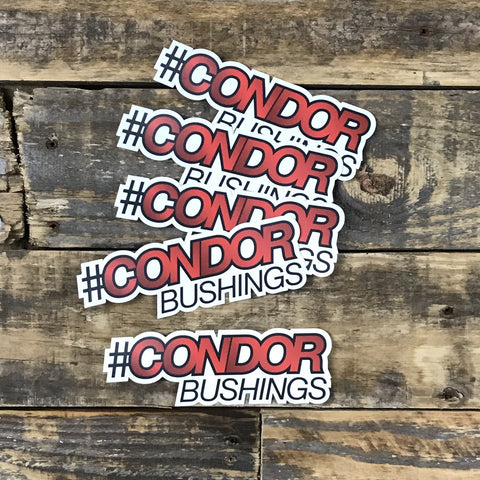 #CONDOR Bushings Decals