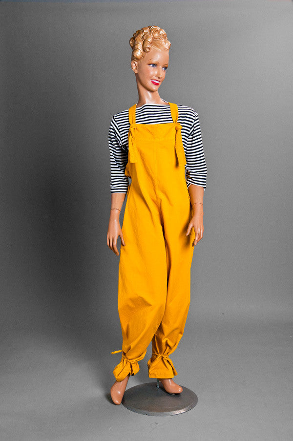Tie-string Overall (Mustard)