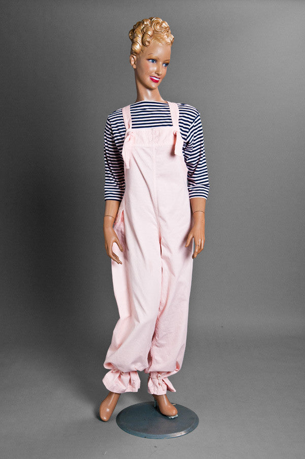 Tie-string Overall (Pink)