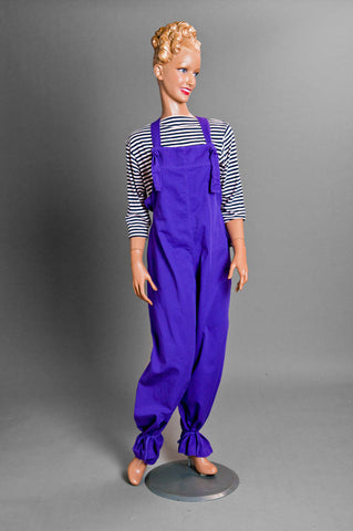 Tie-string Overall (Purple)