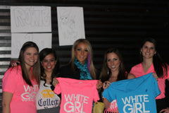 Jenna Marbles with some Route One Apparel street team employees.