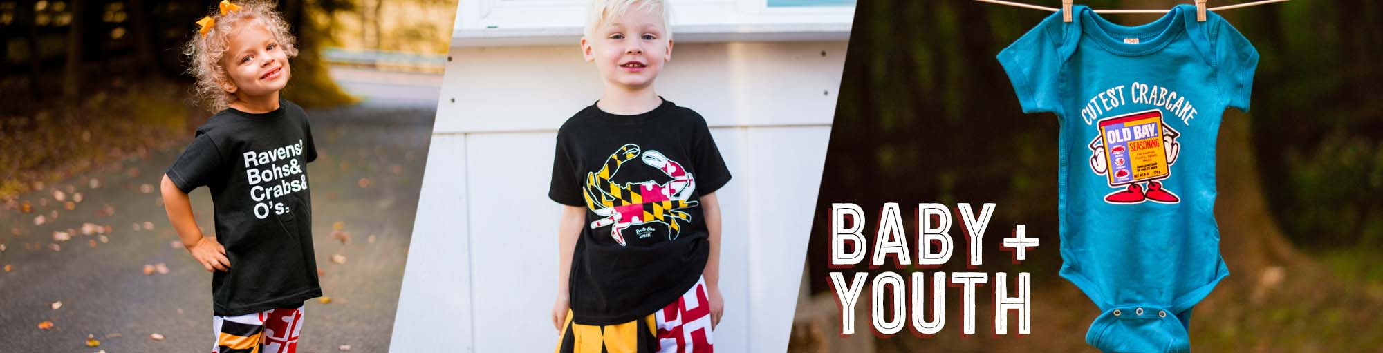 baa2c5536 Baby + Youth – Route One Apparel