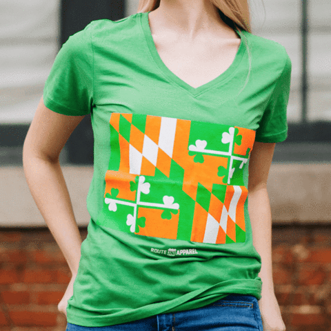 Irish-Maryland-Flag-Shirt