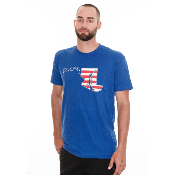 American State of Maryland (Royal Blue) / Shirt
