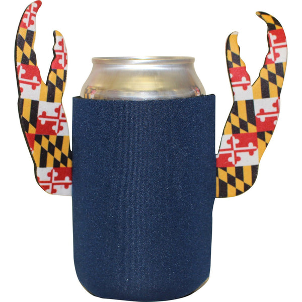 Basic (Blue w/ Maryland Claws) / Crab Claw Koozie