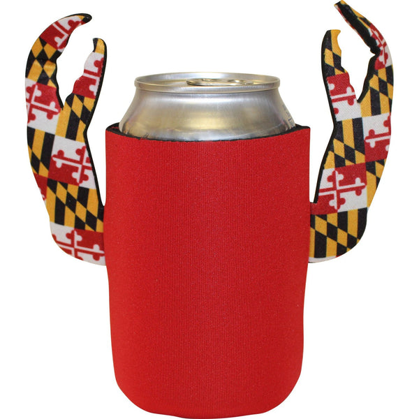 Basic (Red w/ Maryland Claws) / Crab Claw Koozie