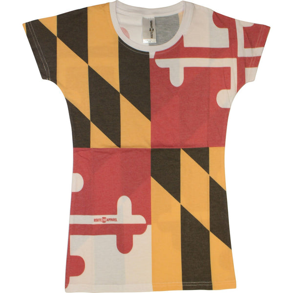 Maryland Flag *Vintage* / Ladies Shirt