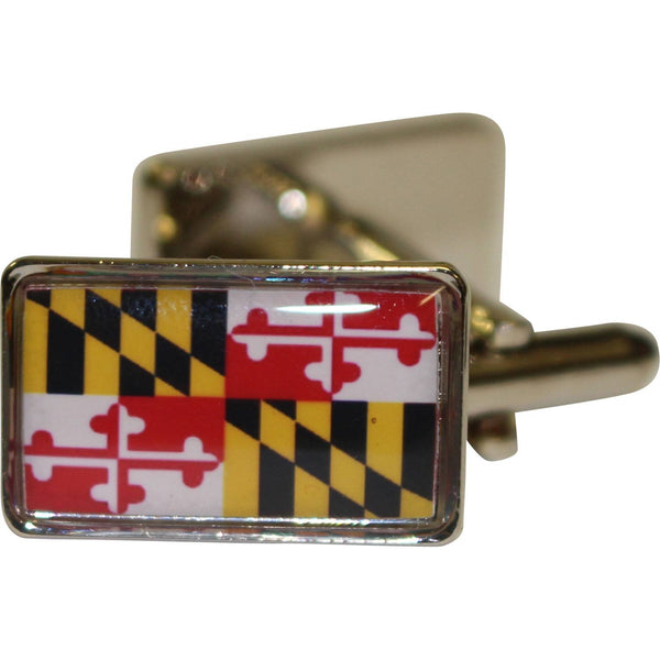 Maryland Flag / Square Cufflinks