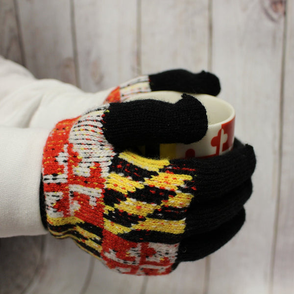 Maryland Flag Gloves Route One Apparel