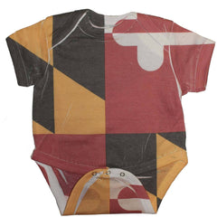 Maryland Flag / Baby Onesie