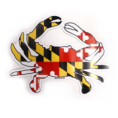 Maryland Full Flag Crab / Magnet