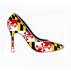 Maryland Flag Heel / Sticker