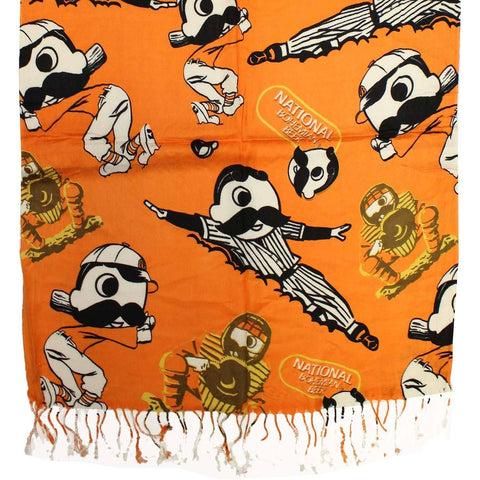 Natty Boh Baseball (Orange) / Scarf