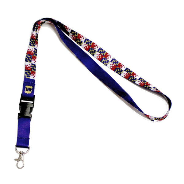 Maryland Nautical Flag / Lanyard