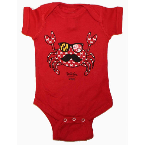 Fun Crab Disguise (Red) / Baby Onesie