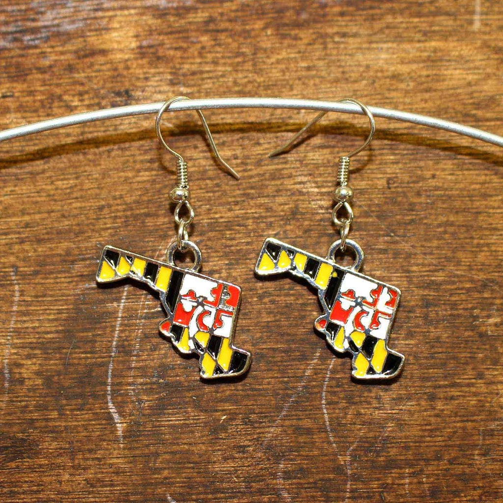 Maryland Flag State of Maryland / Earrings