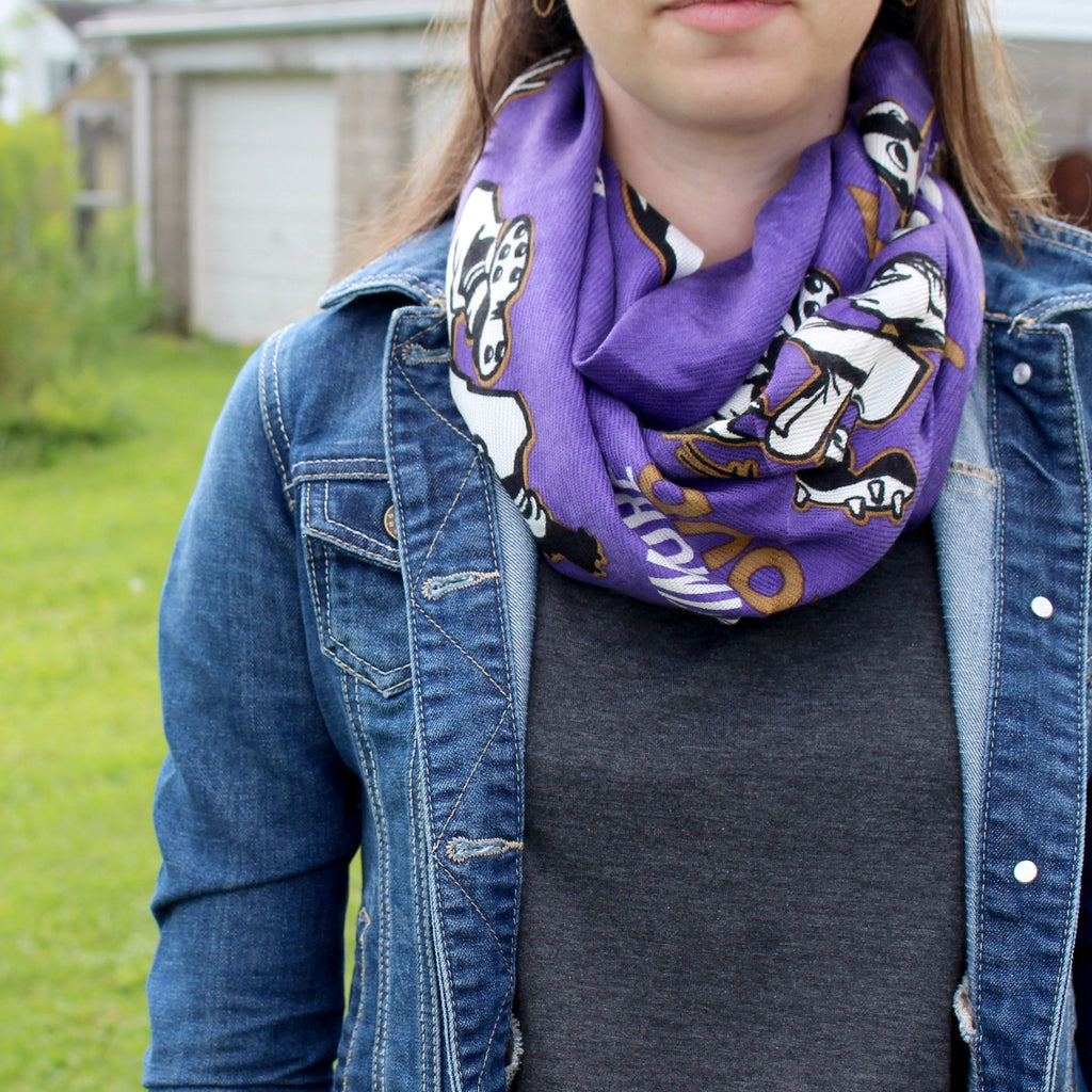Natty Boh Football (Purple) / Scarf