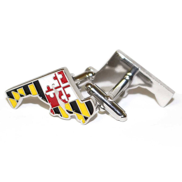State of Maryland / Enamel Cufflinks