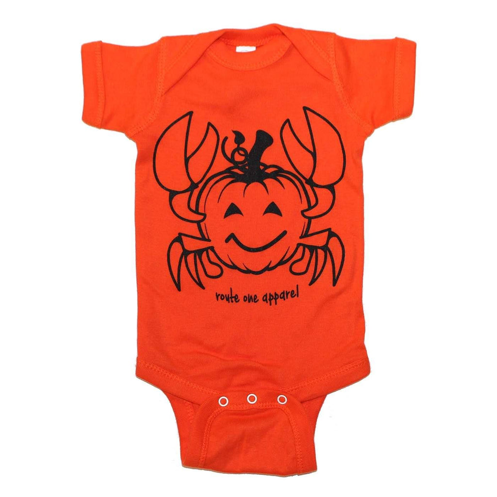 Pumpkin Crab (Orange) / Baby Onesie