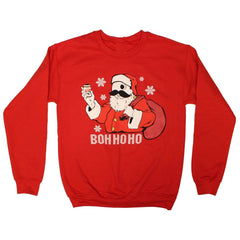 Boh Ho Ho V2.0 (Red) / Crew Sweatshirt - Route One Apparel