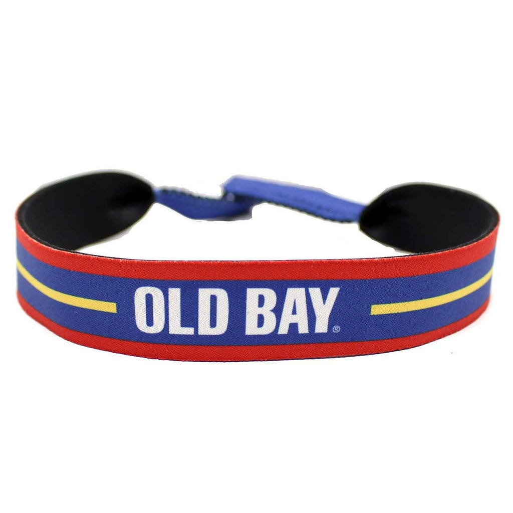 Old Bay Stripe / Neoprene Croakie