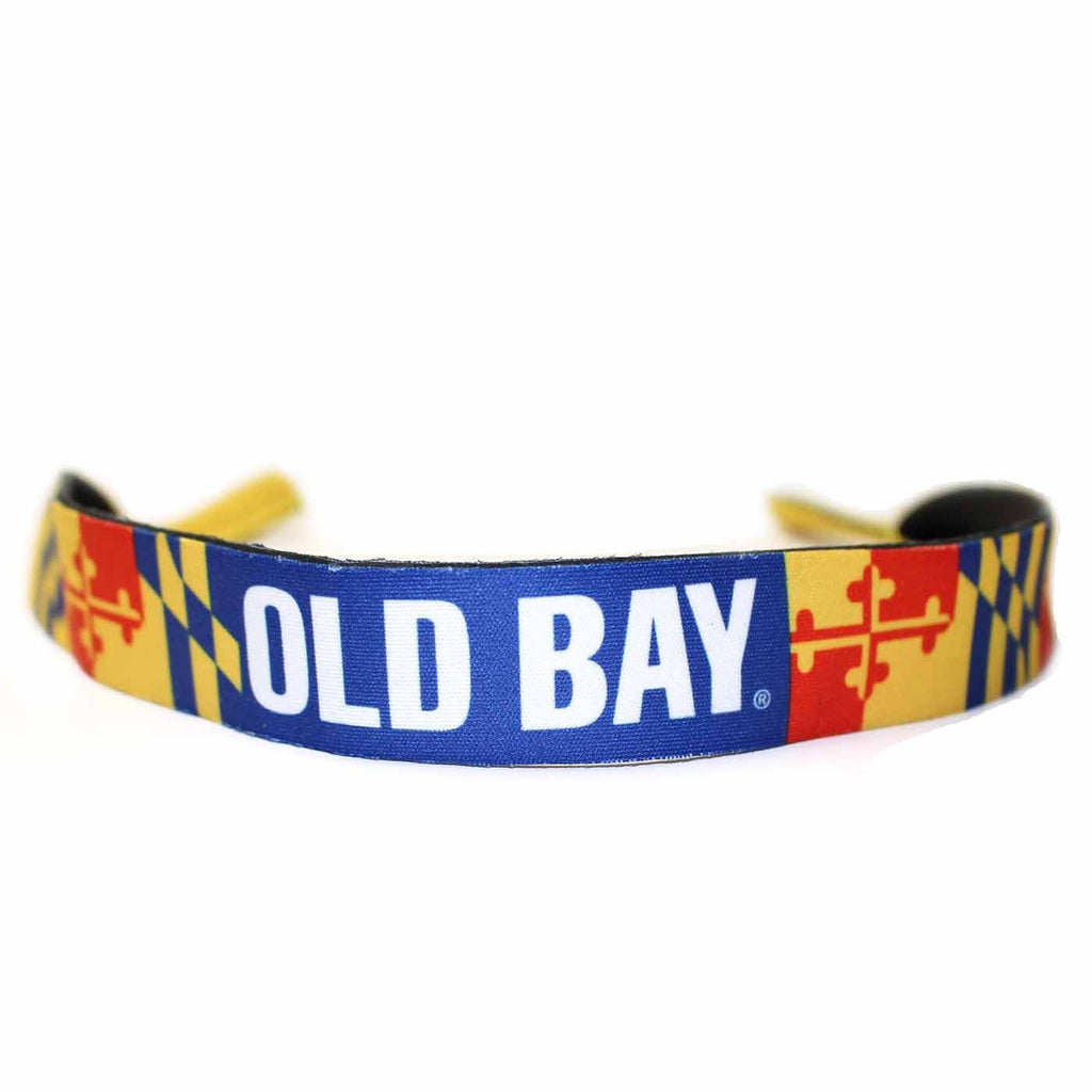 Old Bay with Maryland Flag / Neoprene Croakie
