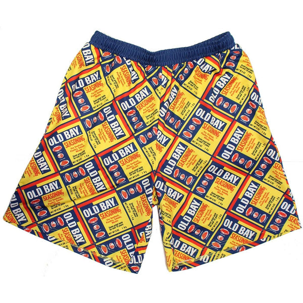 Full Old Bay Can Pattern / Running Shorts (Men) (*PRE-ORDER* Estimated Ship Date 12/20)