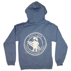 Natty Boh Surfer Dude Land of Pleasant Living (Indigo Blue) / Hoodie