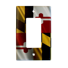 Maryland Flag / Decora Switch Cover