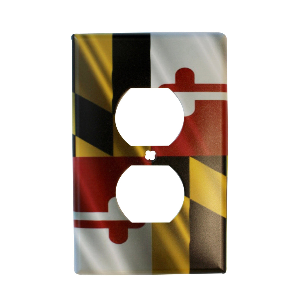 Maryland Flag / Outlet Cover