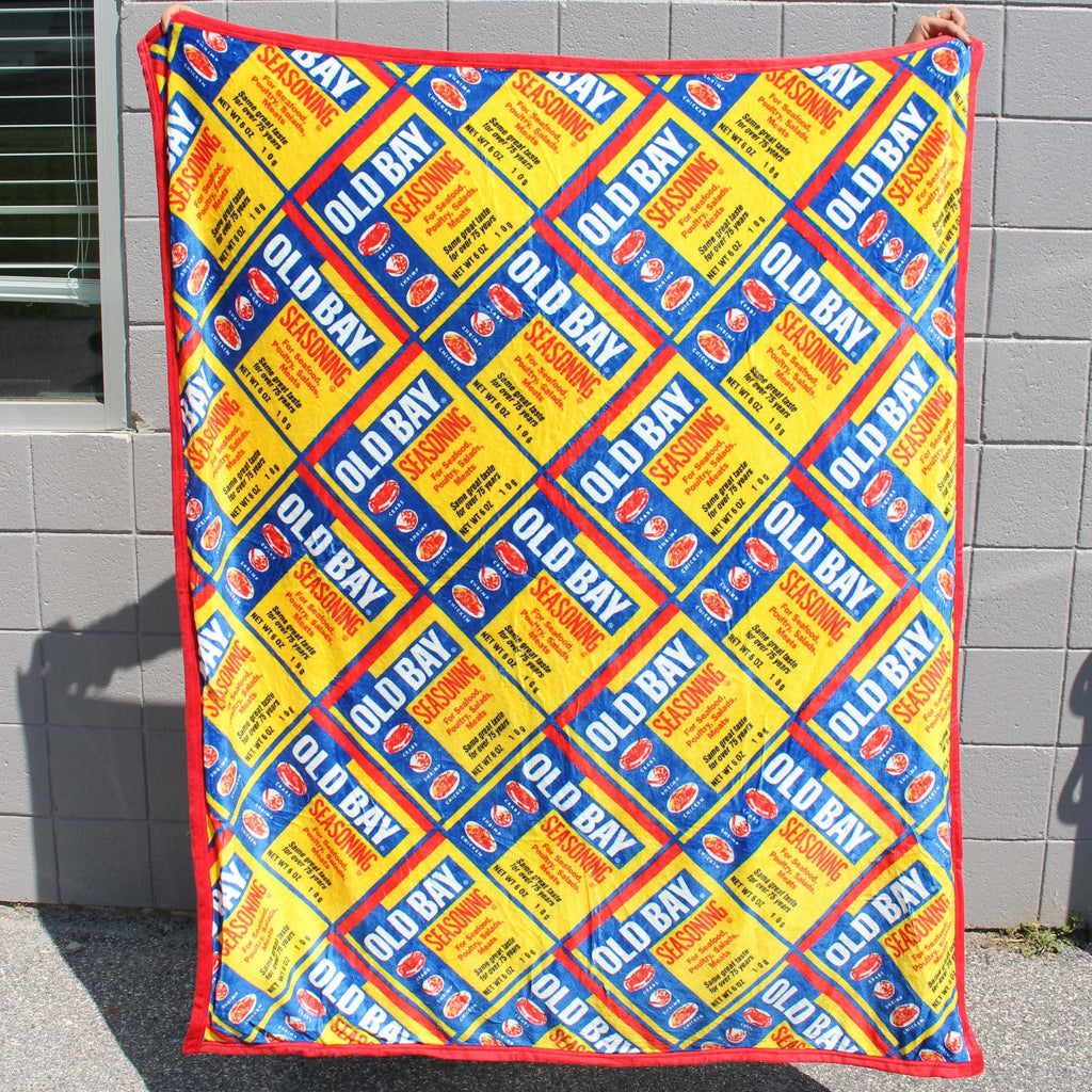 Old Bay / 59in x 50in Blanket