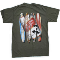 Natty Boh Can Surfboards (Sage) / Shirt