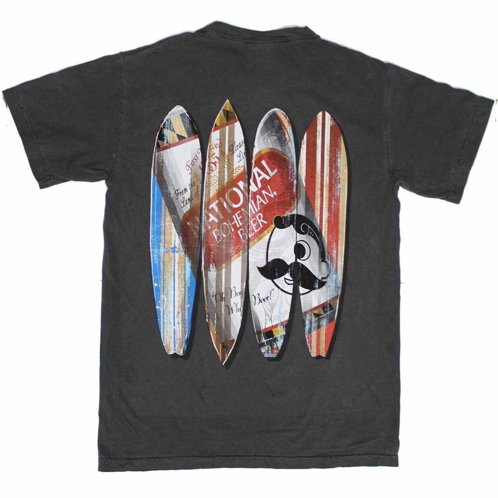 Natty Boh Can Surfboards (Pepper) / Shirt