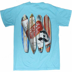 Natty Boh Can Surfboards (Lagoon Blue) / Shirt