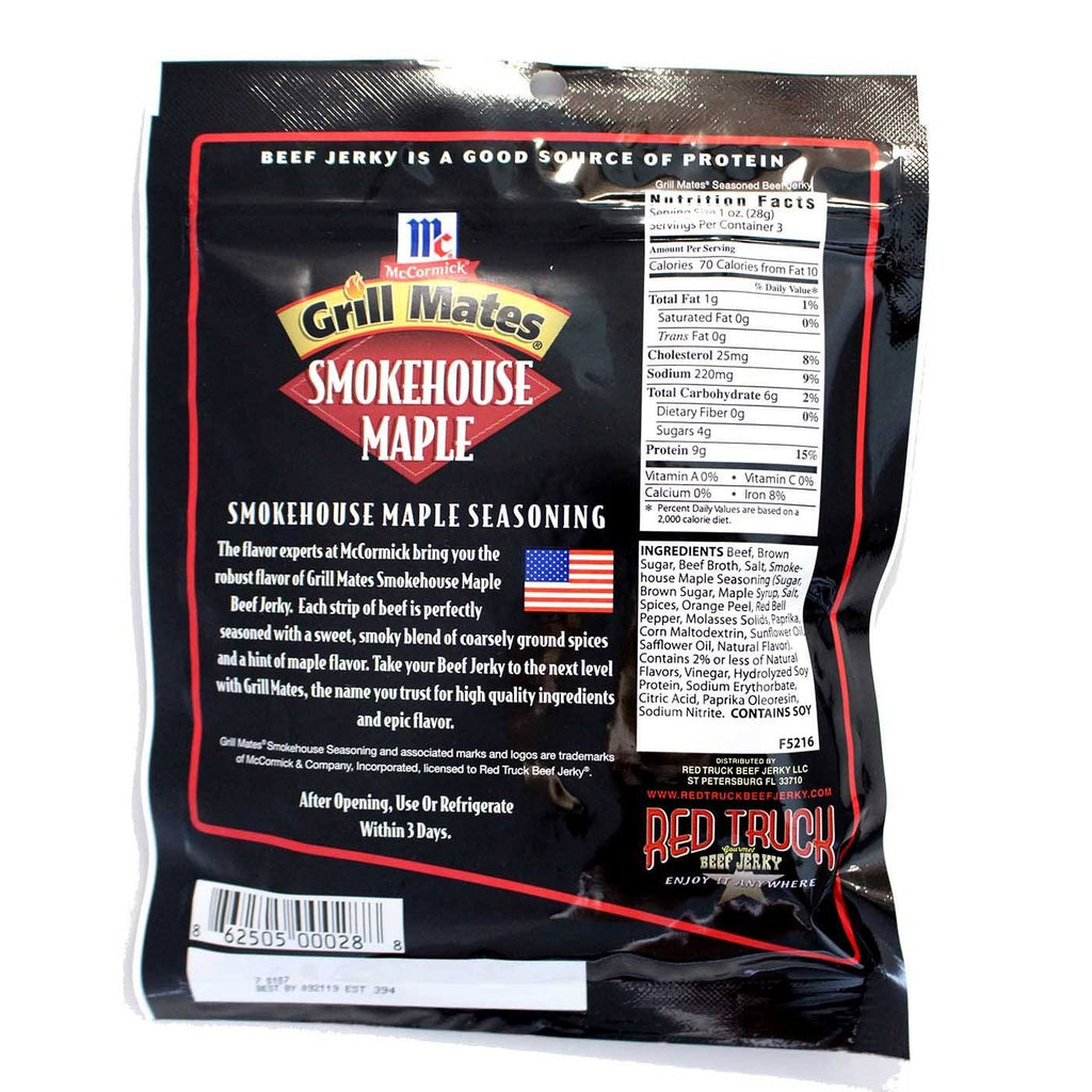 Smokehouse Maple / Beef Jerky