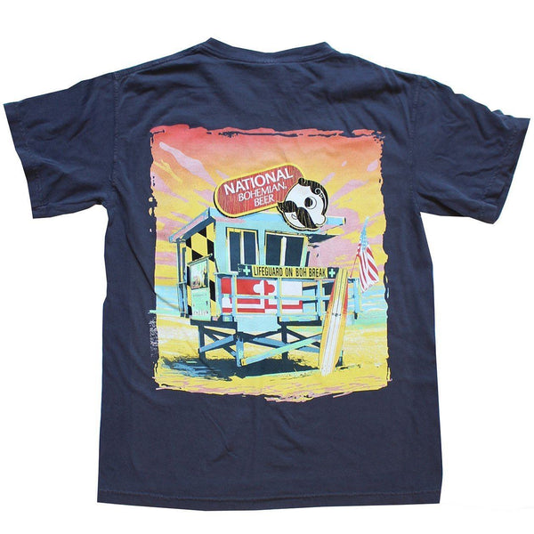 Natty Boh Lifeguard Stand (Navy) / Shirt