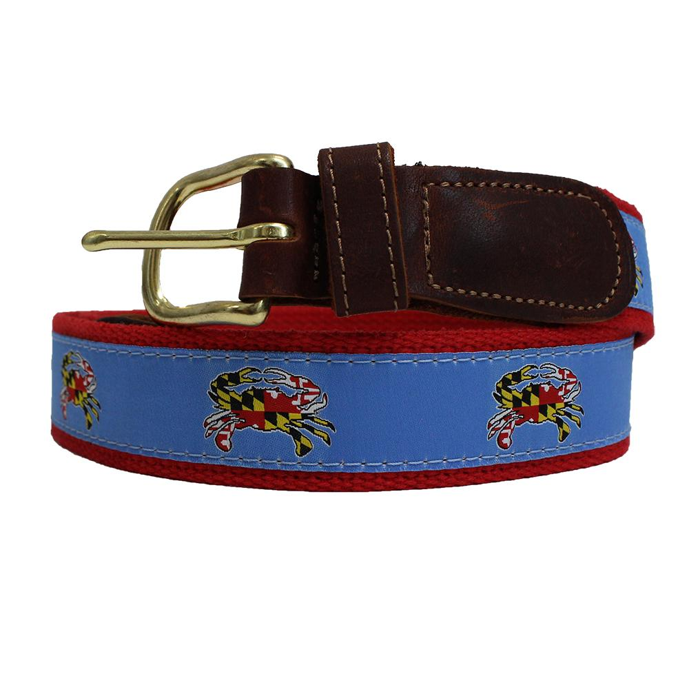Maryland Flag Chesapeake Crab / Belt
