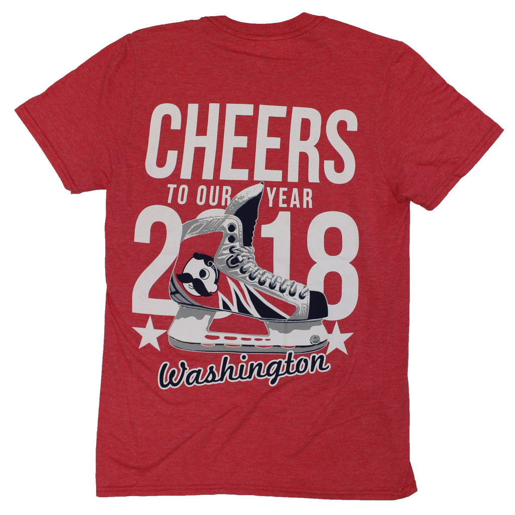 Cheers To Our Year Washington (Sport Red) / Shirt - Route One Apparel