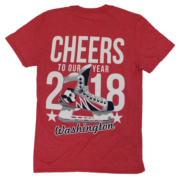 Cheers To Our Year Washington (Sport Red) / Shirt