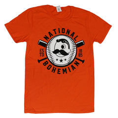 National Bohemian Baseball & Bat (Orange) / Shirt