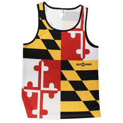 Maryland Flag / Tank