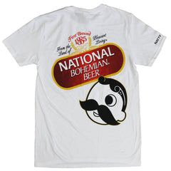National Bohemian Beer Signature Classic (White) / Shirt