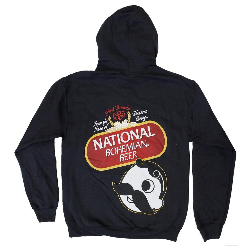 National Bohemian Beer Signature Classic (Black) / Hoodie