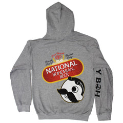 National Bohemian Beer Signature Classic (Sport Grey) / Hoodie