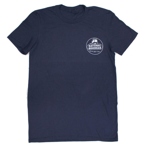 National Bohemian Retro (Navy) / Shirt