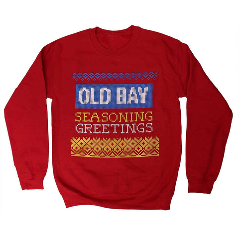 Seasoning Greetings (Red) / Crew Sweatshirt