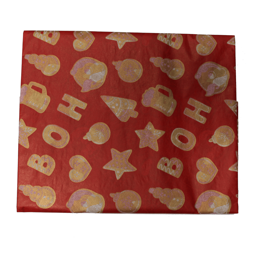 Natty Boh Christmas Cookie (Red) / Tissue Paper Pack