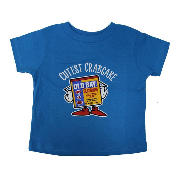 Cutest Crabcake (Cobalt) / *Toddler* Shirt