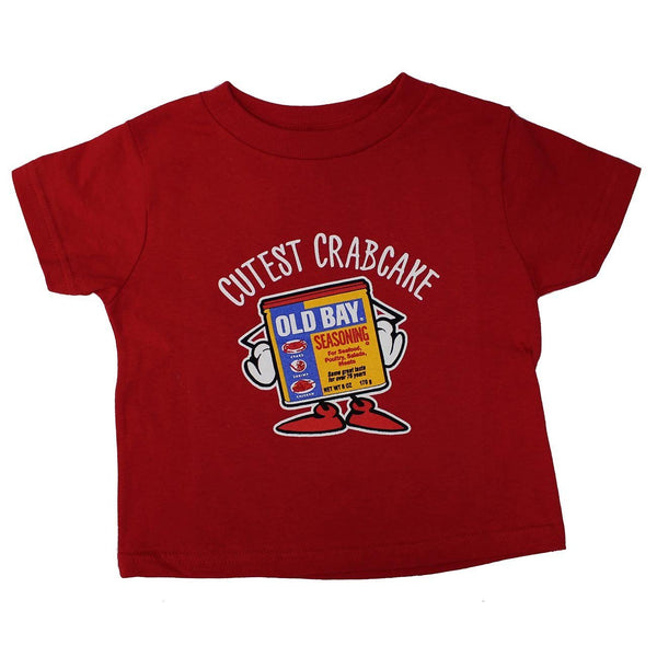 Cutest Crabcake (Red) / *Toddler* Shirt